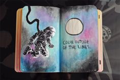 Wreck This Journal: Page 118, 119 by MarketaKindlova