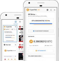 CryptoTab Browser is the world's first web browser with built-in mining features. Familiar Chrome user interface is perfectly combined with extremely fast mining speed. Free Bitcoin Mining, Bitcoin Miner, Fast Browser, Web Browser, How To Get Money, Make Money Online, Money Fast, Earn Btc, Navigateur Web