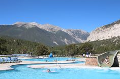 Ride A 400 Foot Water Slide Into These Colorado Hot Springs