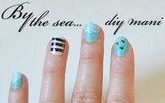 By the sea diy mani