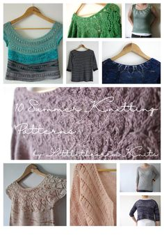 Knitting in the heat can be a struggle, that's why we've compiled a list of our all time favourite warm weather knits! Featuring tees, cardigans and sweaters all in lightweight yarns perfect for the heat. You'll find materials like linen yarn, perfect for knitting and wearing in hot weather, as well as delicate lace garments perfect for summer weddings and garden parties!
