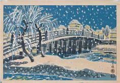 Tokuriki Tomikichiro: Sanjo Bridge - Robyn Buntin of Honolulu