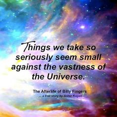 """Universe ~ """"The Afterlife of Billy Fingers""""~ Book by Annie Kagen Teen Life, Geek Culture"""