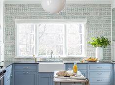 Scraffito C Kitchen - Pratt & Larson Behr Paint Colors, Kitchen Island, Behr, Tiles, Kitchen Backsplash, Home Decor, Kitchen