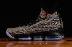 161cf61e2de Tge Nike LeBron 15 Four Horsemen is featured in more imagery and it s  dropping at select Nike stores on April