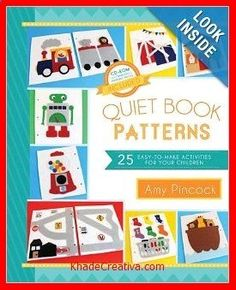 KhadeCreativa.com World Wide Wednesday: Quiet Book Ideas - The Inspired Home source by :http://pinterest.com/pin/380202393521193195/