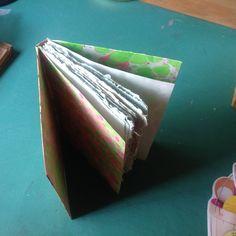 Handmade book by Jeanne V.