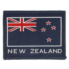 Flags, Badges & Insignia | Army & Outdoors  New Zealand Flag Velcro Patch Velcro Patches, Flag Patches, Samoan Flag, South African Flag, New Zealand Flag, Army Gifts, Australian Flags, Rainbow Flag, German Army
