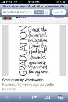 Graduation! Graduation Card Sayings, Graduation Bible Verses, Graduation Message, Graduation Scrapbook, Graduation Crafts, Graduation Announcement Cards, 8th Grade Graduation, School Scrapbook, Graduation 2016