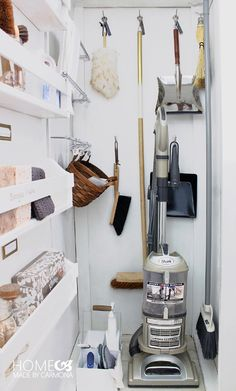 UHeart Organizing: 7 Steps to An Amazing Cleaning Closet (via Bloglovin.com )
