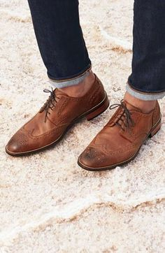 I own shoes like this, so it's safe to say they are a style I like. Dapper Wingtip shoes