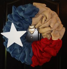 Hey, I found this really awesome Etsy listing at https://www.etsy.com/listing/198554795/texas-flag-wreath ---   http://tipsalud.com   -----