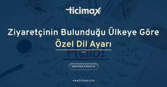 Ziyaretçileriniz, dünyanın neresinde olursa olsun #eticaret sitenizi yerel dilleri ile inceleyebilir!  www.ticimax.com  #eticaret #sanalmağaza #eticaretsitesi #onlinesatış #ecommerce #mobilticaret #satışsitesi #ticimax