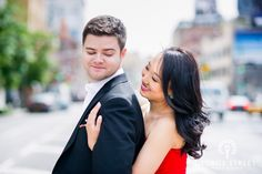I love how these two let their bright personalities shine through in every image from their e-sesh! <3