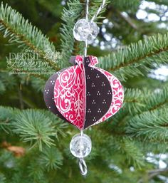 Debbie's Designs: 12 Days of Christmas Ornaments Day #5!