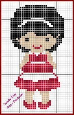 Frozen Cross Stitch, Mini Cross Stitch, Cross Stitch Alphabet, Cross Stitch Charts, Cross Stitch Designs, Cross Stitch Patterns, Crochet Square Patterns, Needlepoint Patterns, Cross Stitching