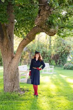 Chronically Vintage: I want 2014 to be a lot like this outfit and photo shoot location