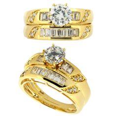 Diamond Engagement Ring Yellow Gold 29