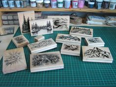 Welcome to Silverwolf Cards: Stampscapes & Scenic stamping .... really good tutorial!