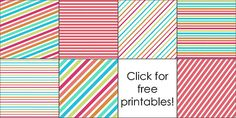 Free Printable Backgrounds + How to Make a Diagonal Striped Background in PowerPoint