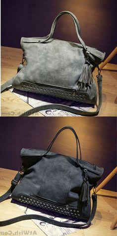 Retro Leather Rivets Shoulderbag Messenger Bag Handbag Motorcycle Bag   handbag  bag  rivet Shoulder dc84cfbb02803