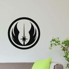 Rebel Star Fighter Logo Vinyl Wall Art Decal Sticker