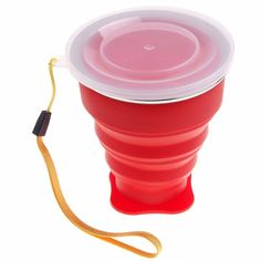200 ml Silicone Vogue Outdoor Travel Retractable Folding Cup Telescopic Collapsible Folding Water Bottle 72201