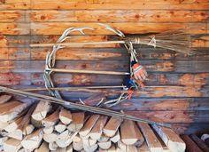 Antler wreath