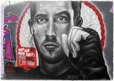 Graffitis em Rio Tinto