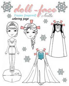 paper dolls coloring pages | imagiterra-frozen-paperdolls-4.jpg ... - Paper Doll Clothes Coloring Pages
