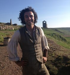 A good day at work for Eleanor Parkinson @BBCSpotlight - on the #Poldark set with Aidan Turner  @davidwhiteshow pic.twitter.com/cIQAEwP5c3