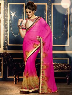 http://lookbuylike.com/tops/stunning-pink-beige-motif-printed-georgette-saree-zari-embroidered-lace-border