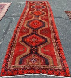 3 5x13 Genuine S Antique Persian Tribal Oriental Hand Knotted Animal Runner Rug Ebay