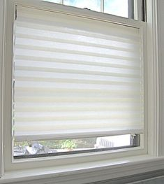 Temporary Blinds As A Cheap Solution When We First Move In Without Permanent Window Treatments