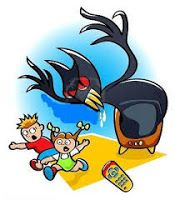 There may be a monster in your living room! Where is the monster? Did you guess that it was right in front of your eyes? It's your television! Get tips to tame the TV Monster. Family Activities, Learning Activities, Kids Learning, Local Library, Skills To Learn, Free Day, New Crafts, New Hobbies, Craft Items