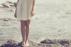 Seaside, salty air, sun, barefoot...