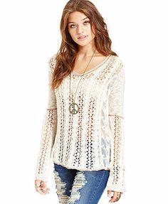 American Rag Sweater, Long Sleeve Open-Knit Lace-Panel 핼로우카지노  핼로우카지노 페가수스카지노   ◈ http://cmd17.com/ ◈ ⓛⓞⓥⓔandⓟⓛⓐⓨ 핼로우카지노  핼로우카지노 페가수스카지노 핼로우카지노  핼로우카지노 페가수스카지노