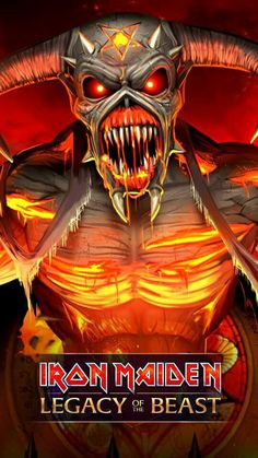 Iron Maiden Album Covers, Iron Maiden Albums, Heavy Metal Art, Heavy Metal Bands, Iron Maiden Posters, Eddie The Head, Iron Maiden Band, Scarface Movie, Metal Albums
