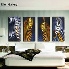 Wall Art Canvas Painting Wall Pictures For Living Room Cuadros Decoration Quadro Modern Picture,No Frame
