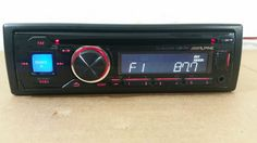Alpine CDE-141 USB/MP3/CD Player In Dash Receiver TESTED WITH WARRANTY #Alpine