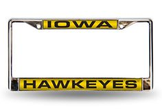 UNIVERSITY OF IOWA LASER CHROME FRAME