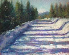 """Colorado High Country"" original fine art by Cindy Haase"