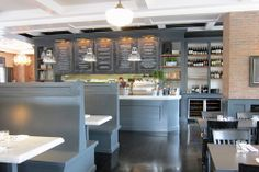 Restaurant interior & design