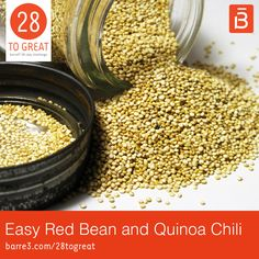Quinoa is one of our favorite ways to add a punch of meatless protein to any meal. This Easy Red Bean & Quinoa Chili, developed by my functional nutritionist Andrea Nakayama, is packed with healthy protein to keep you energized and ready to take on the next 28 days. EASY RED BEAN AND QUINOA CHILI …