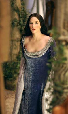 Arwen - Liv Tyler in The Lord of the Rings: The Two Towers - Herr der Ringe&der Hobbit - Liv Tyler, Tolkien, Aragorn, Arwen Lotr, Elvish, Gandalf, The Lord, Lord Of The Rings, Arwen Undomiel