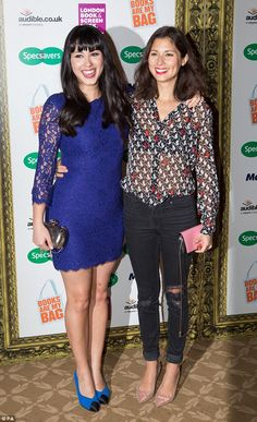 Double trouble: Sister Melissa and Jasmine Hemsley, better known as female foodie duo Hems...