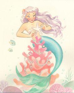 e0c6b5cf9c4e4d4e795b983ee71a2578--art-blog-mermaids.jpg (736×934)