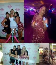 Fan Photo | Kim celebrating her birthday night out in our Terani Couture Floral Illusion Cocktail Dress. Terani C3701