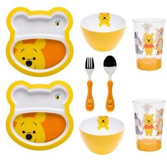 Loving this Big Face Winnie the Pooh Eight-Piece Mealtime Set on Disney Winnie The Pooh, Winnie The Pooh Nursery, Baby Timeline, Daddy Dom Little Girl, Dream Baby, Baby Supplies, Pooh Bear, Baby Bottles, Future Baby