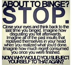Don't binge.